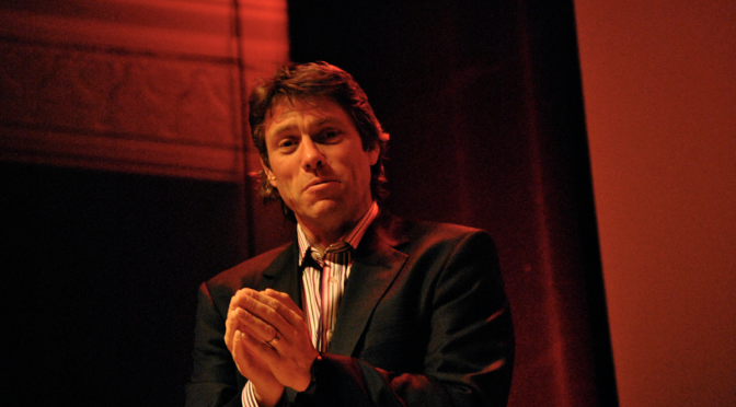 John Bishop's work in progress show gives Cambridge a sneak preview